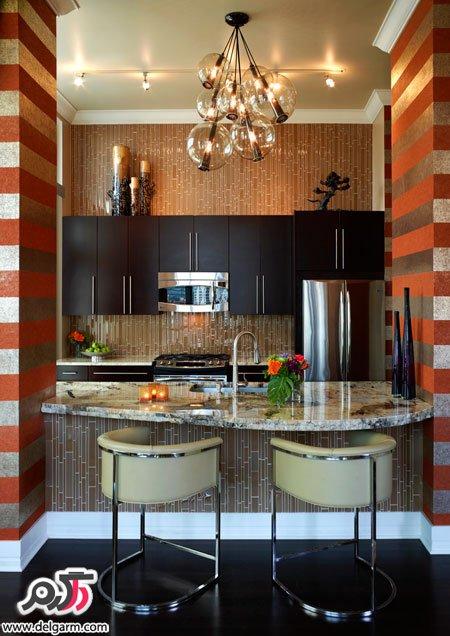 دکوراسیون شیک آشپزخانه 2015