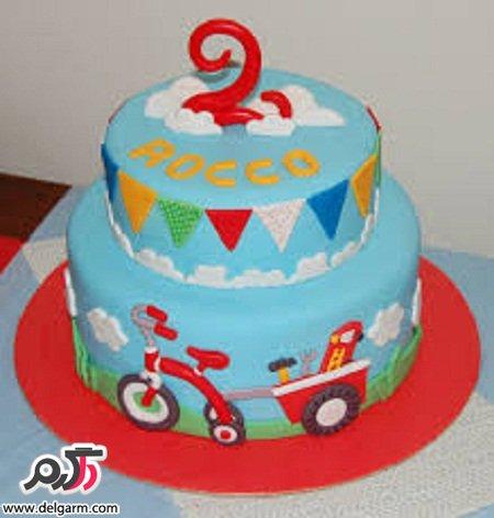 عکس هایی از کیک های تولد جالب