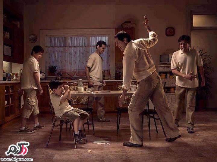 والدین عزیز با رفتار نادرست به خلافکار شدن فرزندتان کمک نکنید