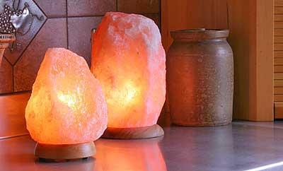 سنگ نمک انرژی منفی را جذب می کند