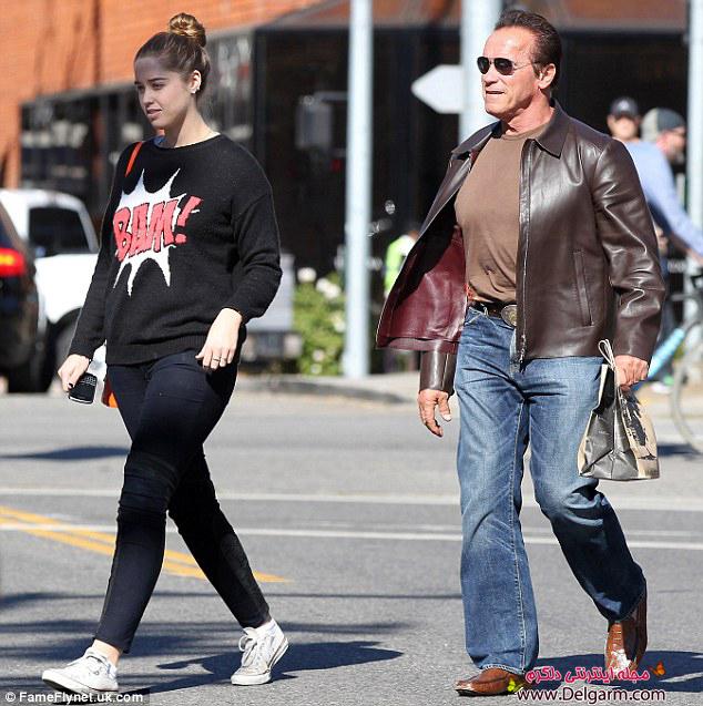 تصاویر جدید از آرنولد شوارتزنگر و دخترش کریستینا