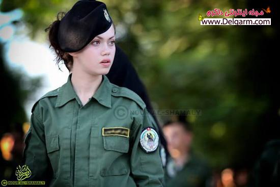 زیباترین پلیس زن در فلسطین