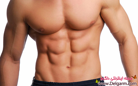 6 تیکه کردن عضلات شکم