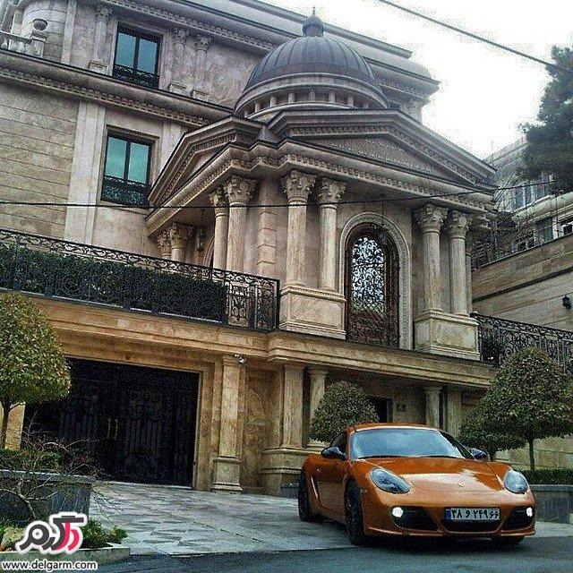 تصاویر ماشین های گران قیمت و بچه پول دار تهران