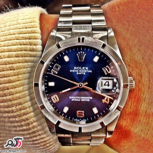 ساعت رولکس Rolex اصل - قیمت 15 میلیون تومان