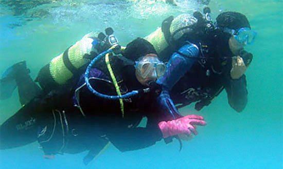 استخدام جوشکار زیر آب