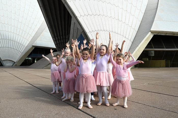 مسابقات رقص باله کودکان در سیدنی استرالیا