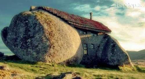 عجیب ترین خانه ها در دنیا