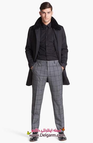 جدیدترین مدلها از لباس زمستانی مردانه و پسرانه 2014