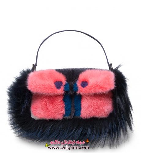 شیک ترین مدل ها از کیف دستی زنانه برند فندی fendi سری ششم