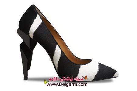 جدید ترین مدل ها از کفش زنانه فندی fendi سری دوم