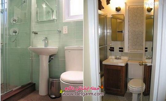 دکـوراسیون های لـوکس بـرای حـمام و دسـتشویی