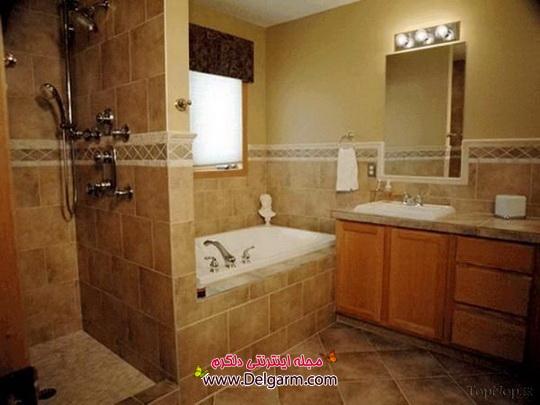 طراحی جدید بـرای حـمام و دسـتشویی