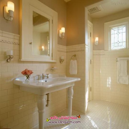 جدیدترین دیزاین از طراحی حـمام و دسـتشویی