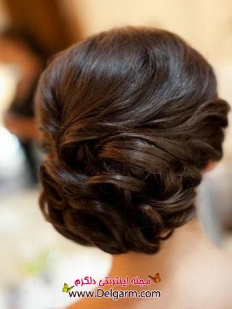 زیباترین شینیون مو و موی بافته 2014