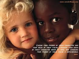 رنگ پوست متفاوت