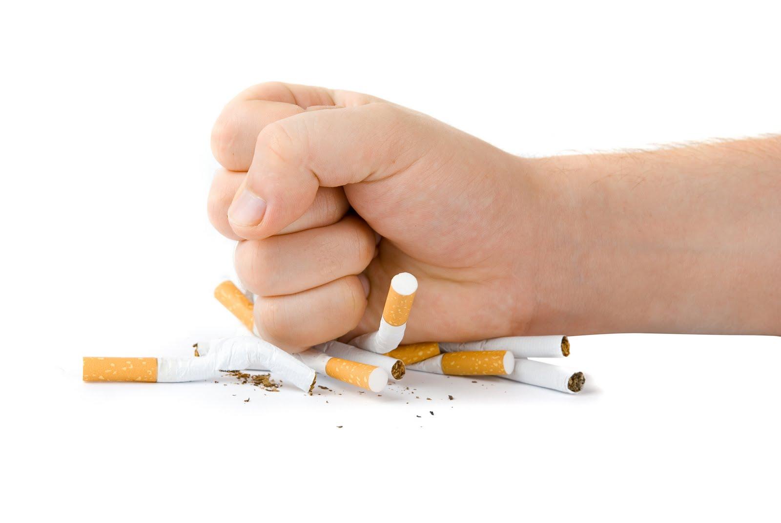 10 قدم برای ترک سیگار