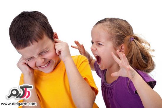 دعواهای بچه ها و دعوا کردن کودکان