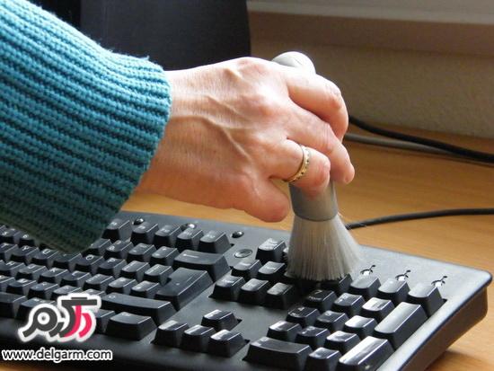 بهترین راه تمیز کردن لپ تاپ