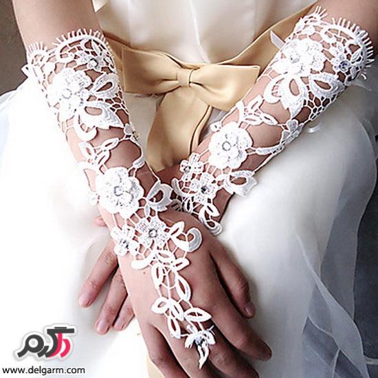 جدیدترین مدل های دستکش عروس