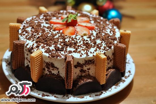 مدل های تزیین کیک تولد خانگی