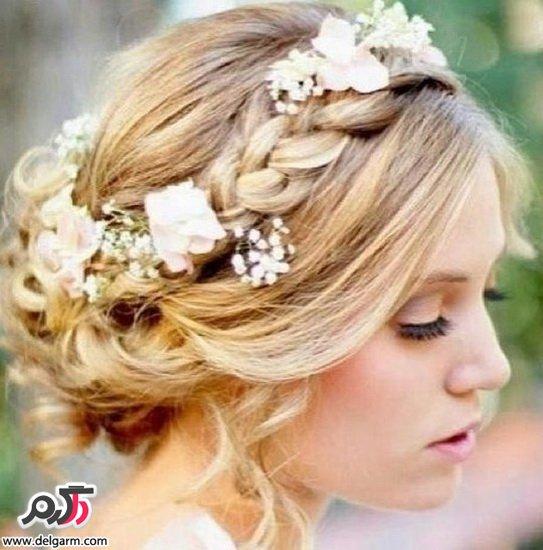 مدل شینیون عروس 2015
