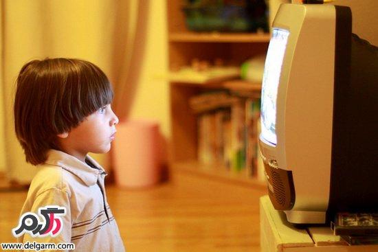 عادت تلویزیون تماشا کردن کودکان