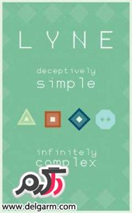 دانلود بازی ساده و فریب انگیز LYNE v1.0.6 برای اندروید