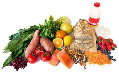 ورزش و غذای سبک