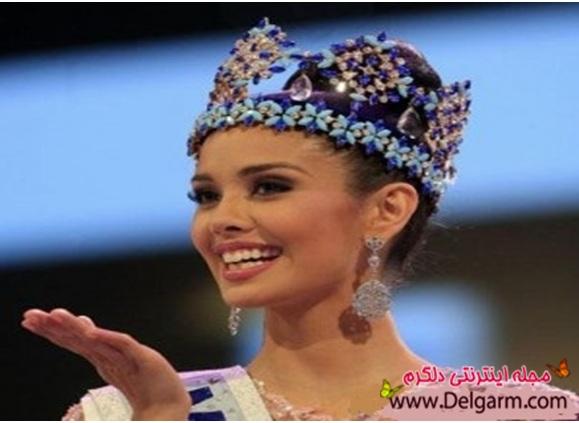 تصاویری از زیباترین دختر جهان در سال 2013