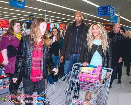 هدیه ویژه بیانسه به مشتریان یک فروشگاه به مناسبت کریسمس