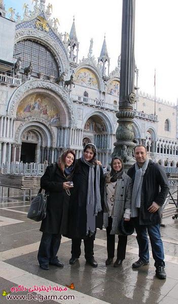نگار جواهریان و ریما رامین فر در ونیز ایتالیا+تصاویر