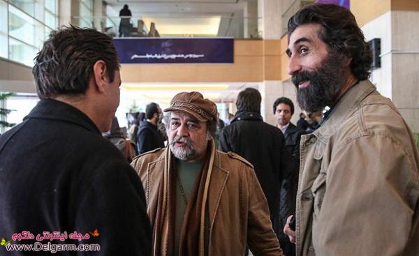 عکسهای بازیگران در حاشیه سی و دومین جشنواره فیلم فجر ۹۲