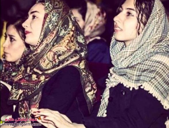 عکسی از هانیه توسلی و خواهرش طناز در کنسرت