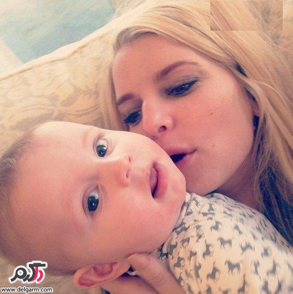 تصاویر جدید جسیکا سیمپسون و خانواده اش در اینستاگرام