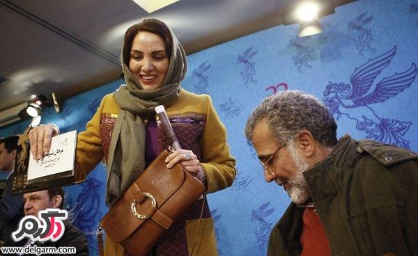 عکسهای بهروز افخمی و همسرش مرجان شیرمحمدی/فجر 92