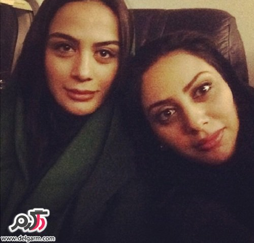 عکسهای جدید مونا فرجاد و خواهرش مارال فرجاد