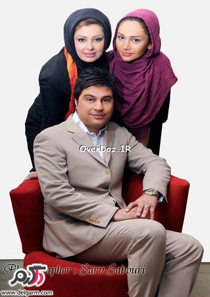 عکسهای جدید و خانوادگی نیوشا ضیغمی در کنار همسر و خواهرش