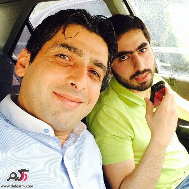 جدیدترین تصاویر شخصی و دیدنی حمید گودرزی بازیگر در خرداد 93