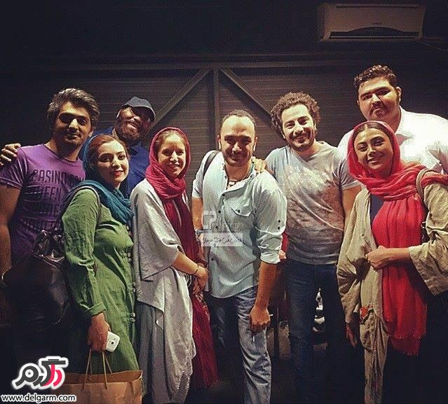 عکسهای جدید آزاده صمدی بازیگر/شهریور 93