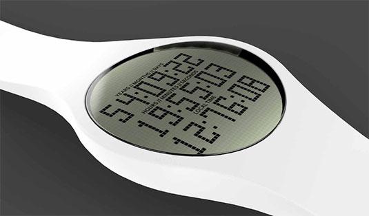 این ساعت مچی زمان باقیمانده از عمر شما را نمایش میدهد!