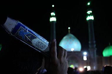 شفا از امام زمان در مسجد جمکران
