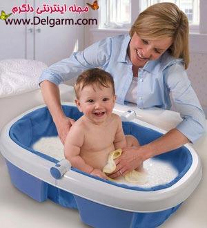 چگونه کودک را حمام کنیم + نکات