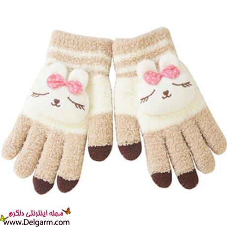 دستکشهای بافتنی دخترانه ۲۰۱۴