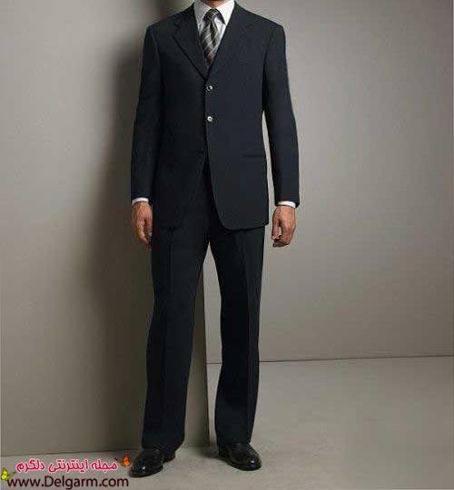 لباس مشکی مدل ماهی عکس جدید کت و شلوار مردانه دامادی