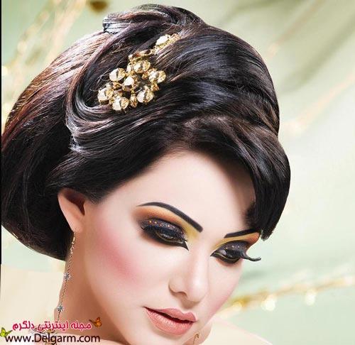 مدل آرایش عروس خلیجی + عکس