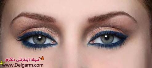 آرایش چشم دخترانه و اسپرت + آموزش