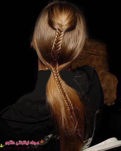 مدل موهای جذاب دخترانه و بافت جدید