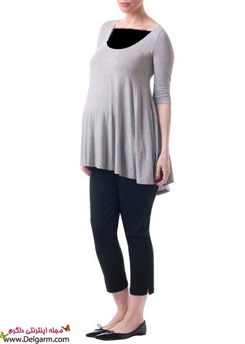 مدل لباس حاملگی اسپرت و راحت