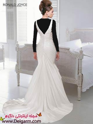 مدل لباس عروس زیبا در طرحهای شیک